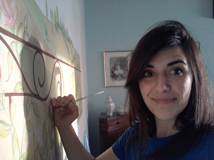 Decorazioni murali, Trompe l'oeil e Camerette per bambini di LAB - officina d'arte & restauro