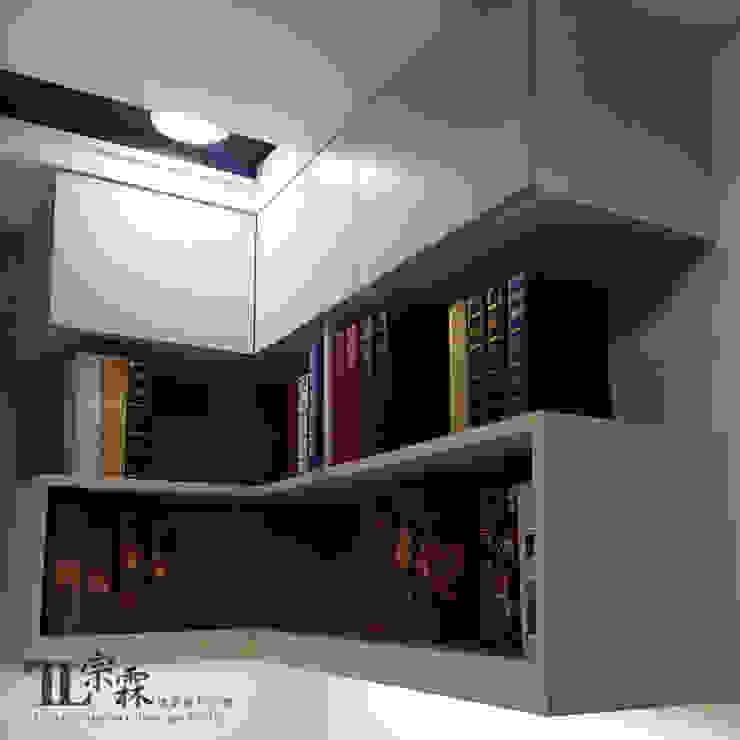 女兒房書桌吊櫃 根據 宗霖建築設計工程 隨意取材風