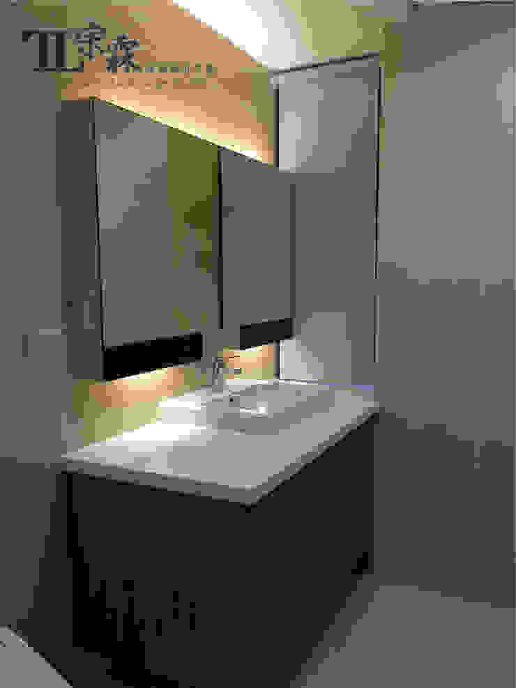 主衛浴 根據 宗霖建築設計工程 隨意取材風