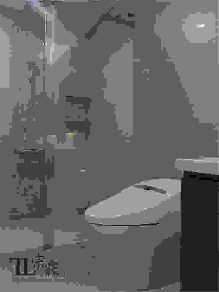 主衛浴另一側 根據 宗霖建築設計工程 隨意取材風
