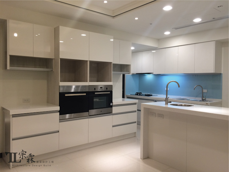 廚具櫃&廚房中島 根據 宗霖建築設計工程 隨意取材風