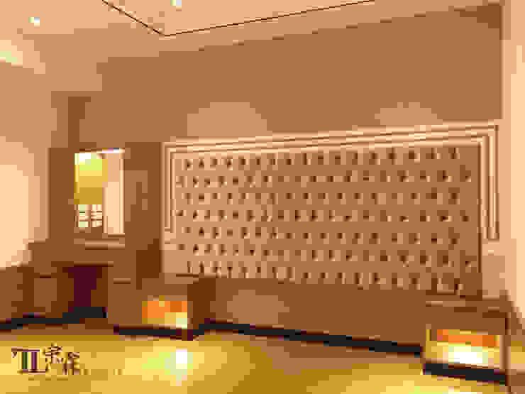 主臥室 根據 宗霖建築設計工程 隨意取材風