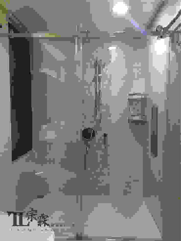 次臥室衛浴 根據 宗霖建築設計工程 隨意取材風