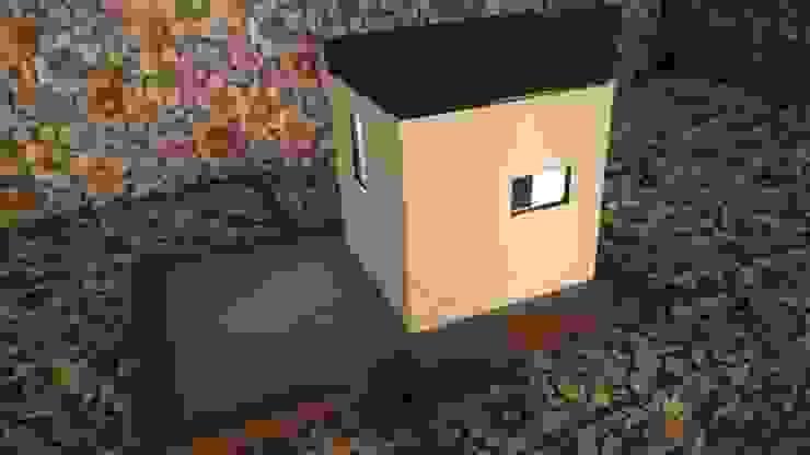 Cube Project QB1 Casas modernas de Maquetas JCM Moderno