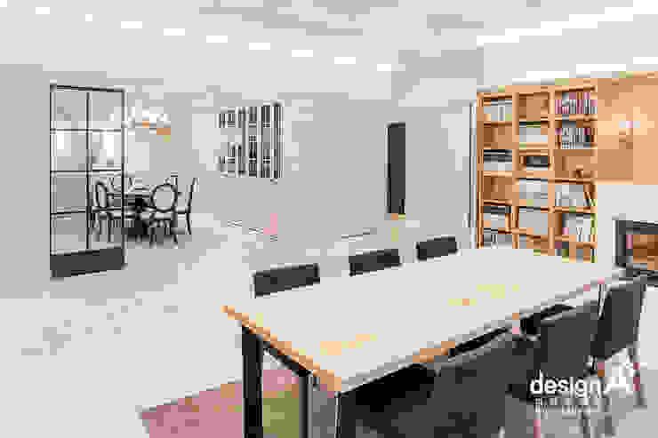 고급스런 클래식의 향연 클래식스타일 거실 by Design A3 클래식