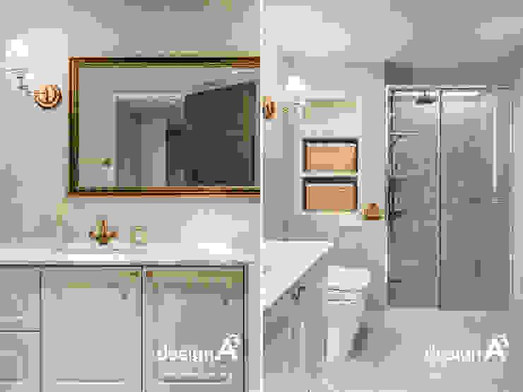 고급스런 클래식의 향연 클래식스타일 욕실 by Design A3 클래식