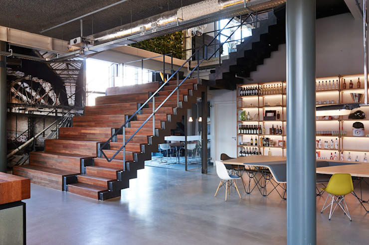 by VASD interieur & architectuur Industrial
