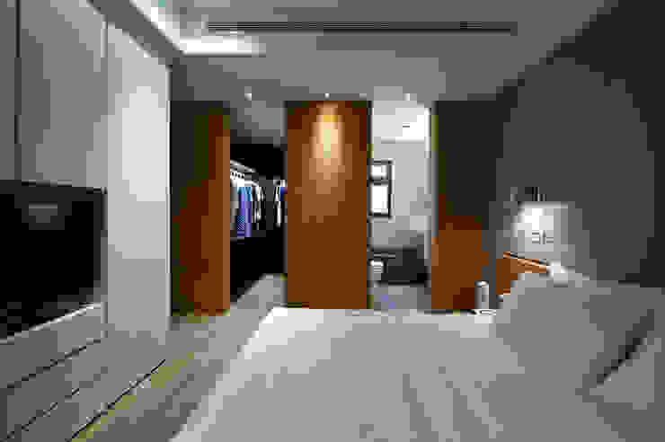 台北大直北歐風住宅 八軒室內裝修工程有限公司 臥室