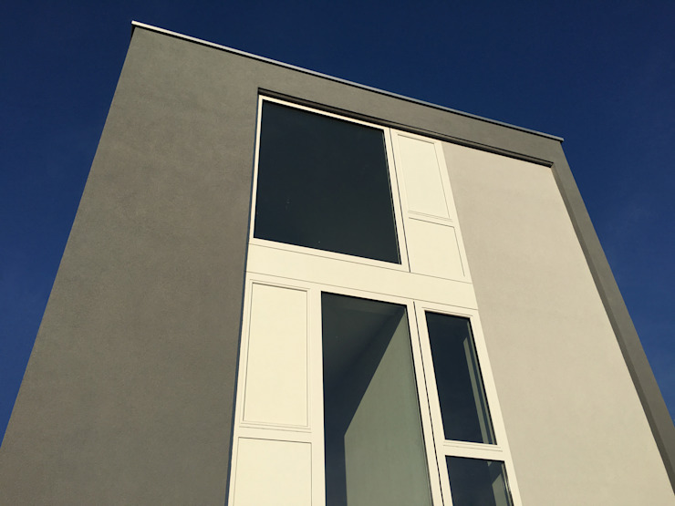 woonhuis O Veemarkt Utrecht Moderne huizen van atelier2architecten Modern