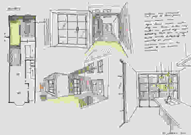 Impressie binnen en buiten van Gaby Paulissen Architect
