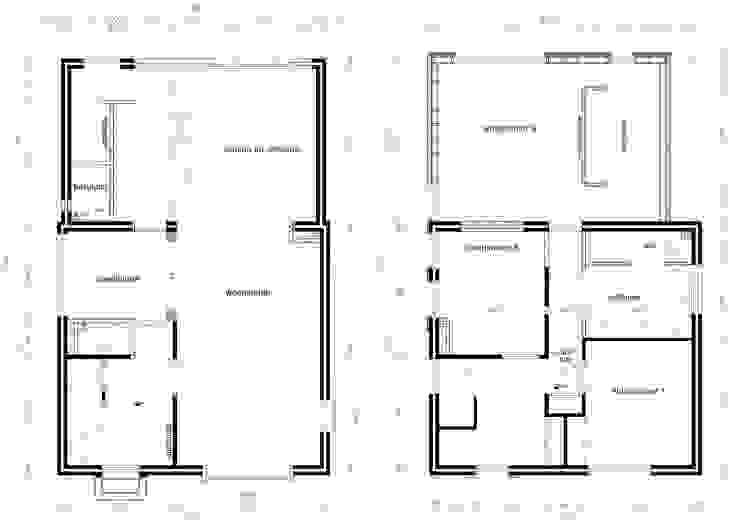 Plattegronden van Gaby Paulissen Architect