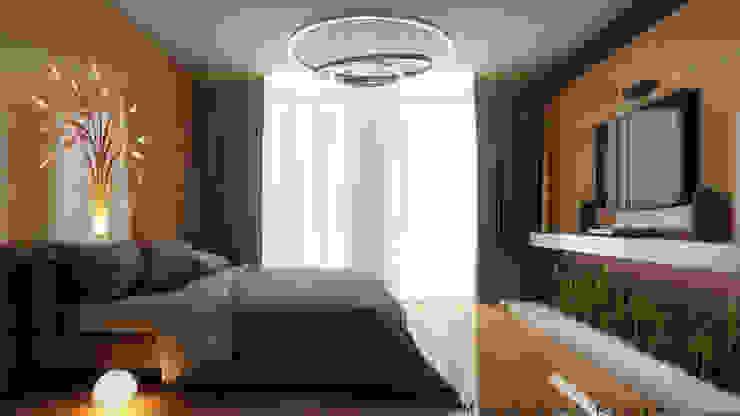 3D Designs By Mirva Vora Designs. Modern style bedroom by Mirva Vora Designs Modern