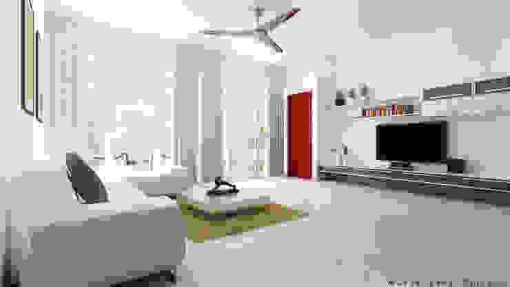 3D Designs By Mirva Vora Designs. Modern living room by Mirva Vora Designs Modern