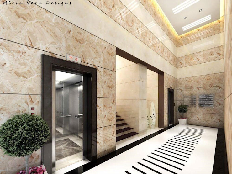 3D Designs By Mirva Vora Designs. Classic style corridor, hallway and stairs by Mirva Vora Designs Classic