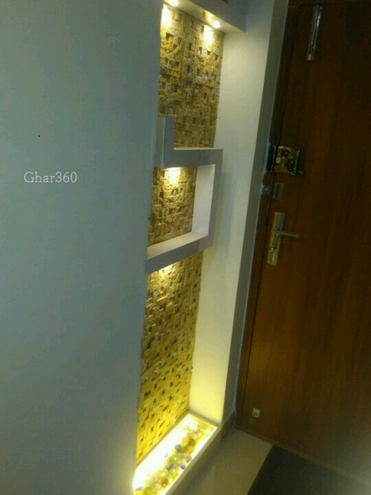 Completed Projects Mix Modern walls & floors by Ghar360 Modern Concrete