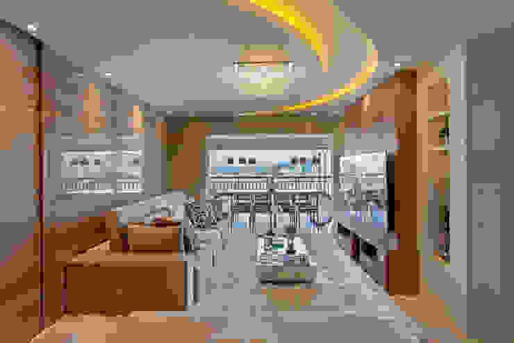 Salas / recibidores de estilo  por Designer de Interiores e Paisagista Iara Kílaris, Moderno