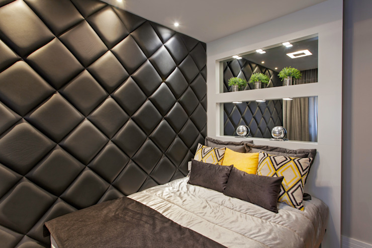 Phòng ngủ theo Designer de Interiores e Paisagista Iara Kílaris, Hiện đại