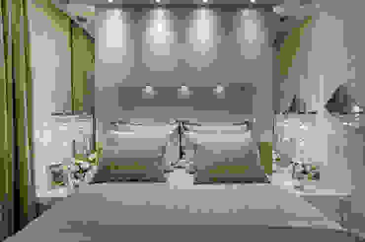 Designer de Interiores e Paisagista Iara Kílaris Dormitorios de estilo moderno Beige