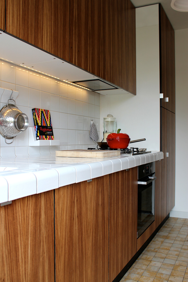 Keuken B42 Maastricht (2013) Moderne keukens van Gaby Paulissen Architect Modern Hout Hout