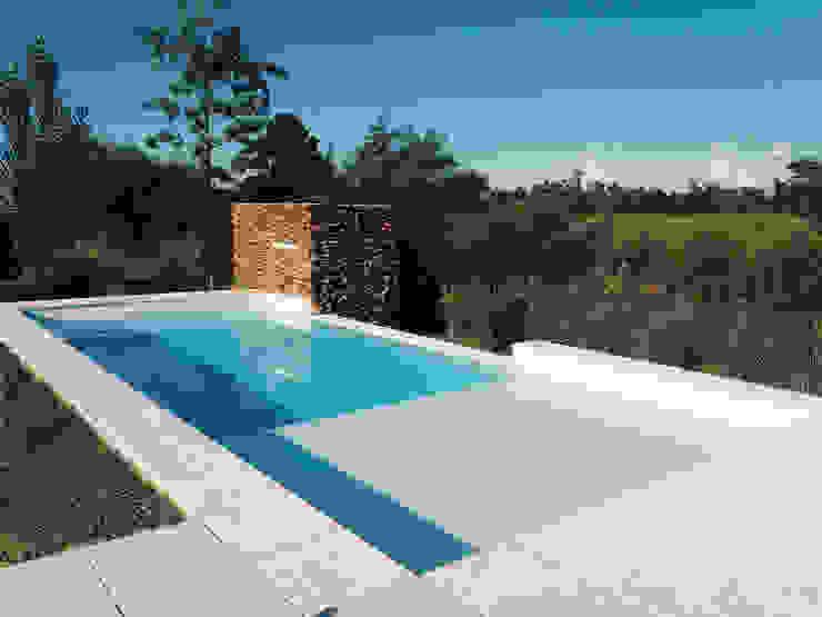 Modern pool by homify Modern Bricks