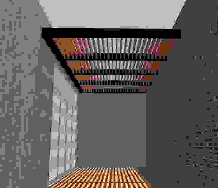 Síntesis Arquitectónica ® Balcon, Veranda & Terrasse modernes Fer / Acier