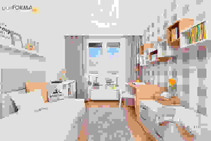 Детская комната в стиле модерн от poliFORMA Модерн