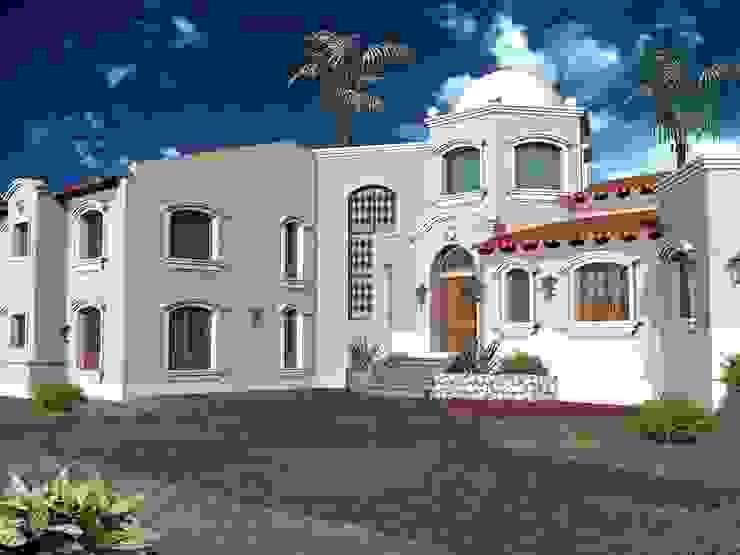 Proyecto de Vivienda unifamiliar Casas coloniales de Valy Colonial Ladrillos