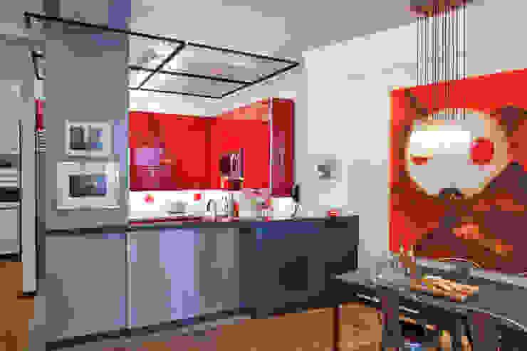 John Street Loft Modern Dining Room by Eisner Design Modern