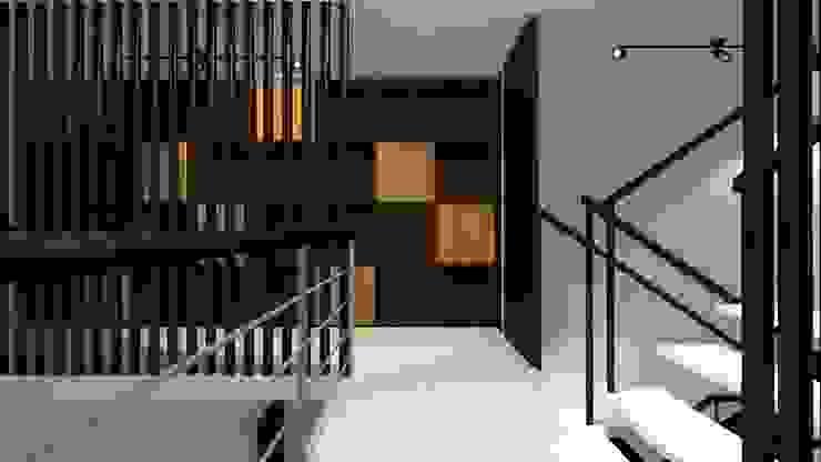 Biblioteca de homify Moderno