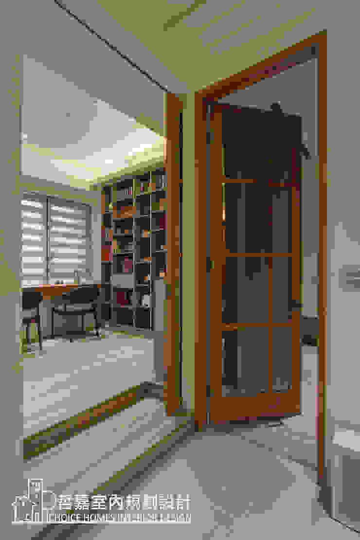 書房門設計 根據 哲嘉室內規劃設計有限公司 簡約風