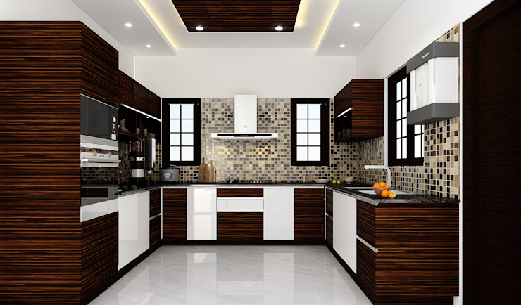 Kitchen by Karigar Kreation Architects,