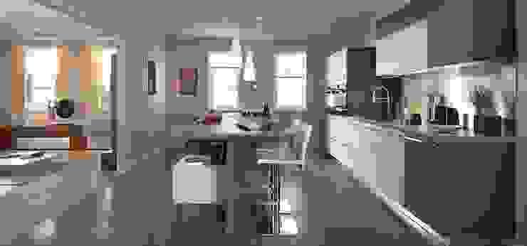 Modern Kitchen with Island by Schmidt Modern kitchen by Schmidt Kitchens Barnet Modern
