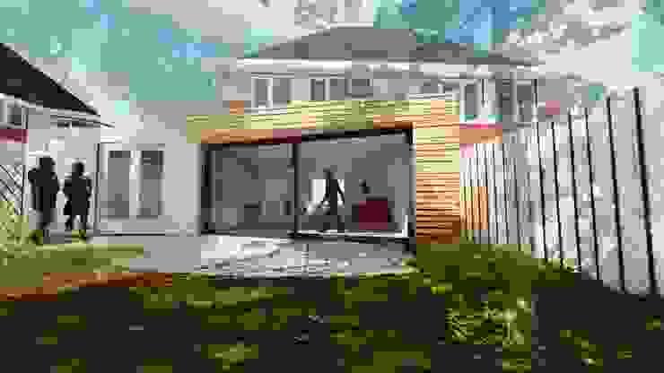 Aanbouw Woning Assen Scandinavische huizen van RABARB Architecten Scandinavisch