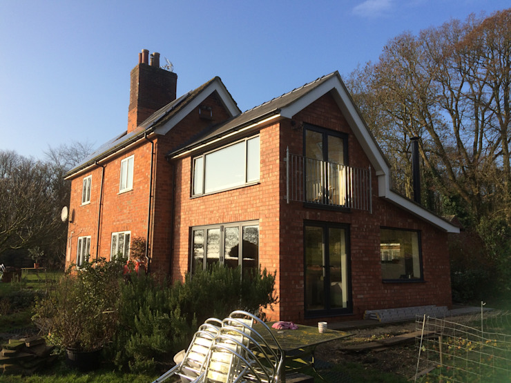 Double Height Garden Room Extension Country style house by homify Country