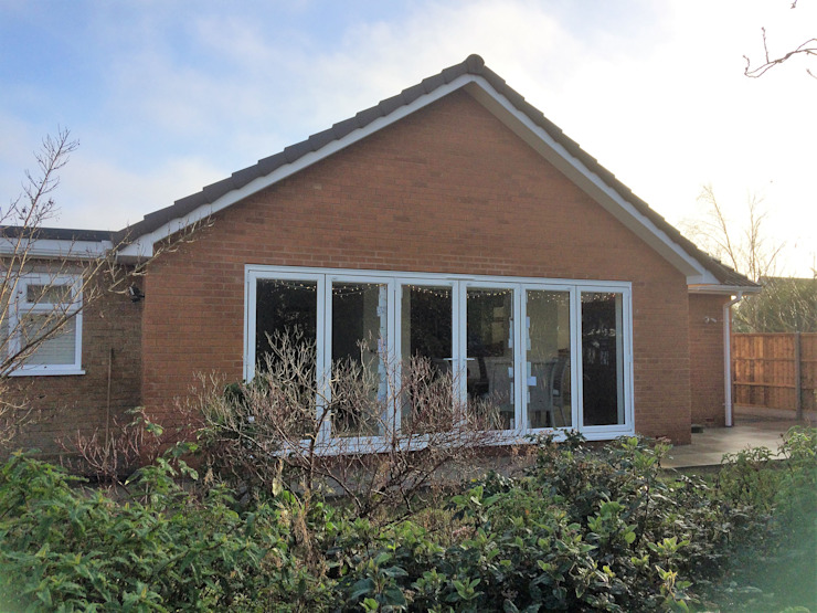 Completed Rear Extension by JMAD Architecture (previously known as Jenny McIntee Architectural Design)