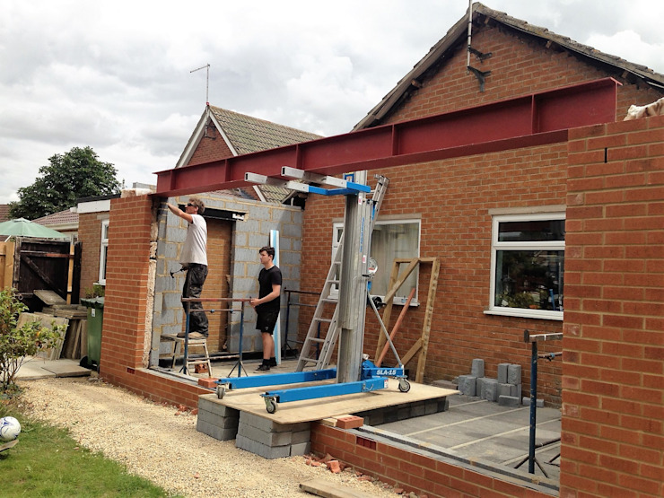 During the Extension by JMAD Architecture (previously known as Jenny McIntee Architectural Design)