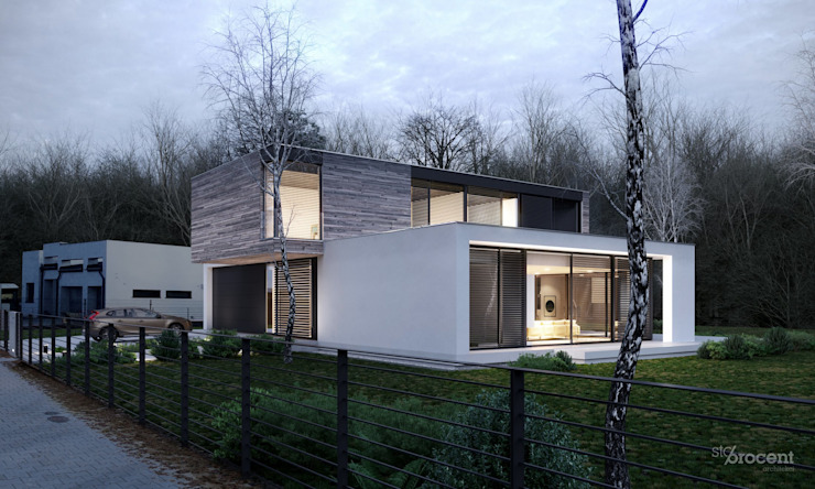 Side view by STOPROCENT Architekci