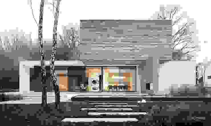 Garden view by STOPROCENT Architekci