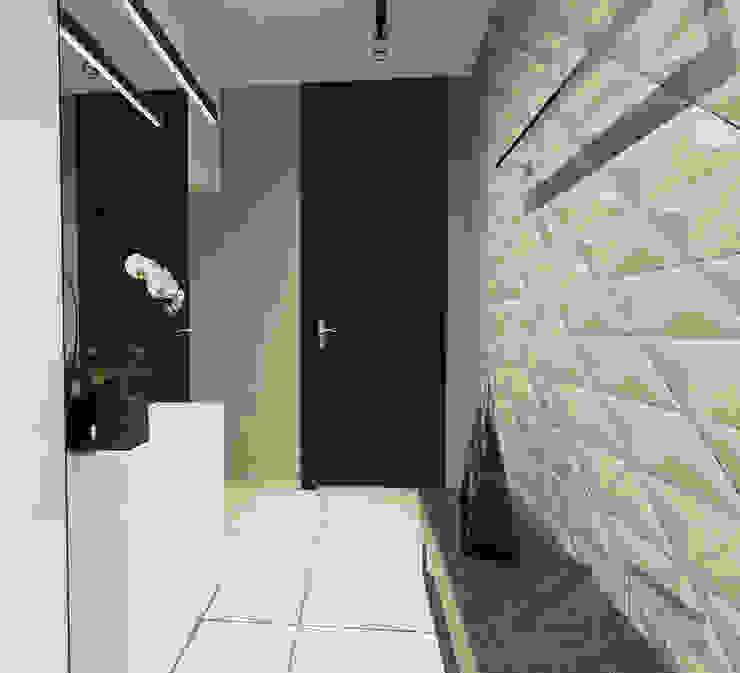 Koridor & Tangga Gaya Skandinavia Oleh ZIN Studio Skandinavia
