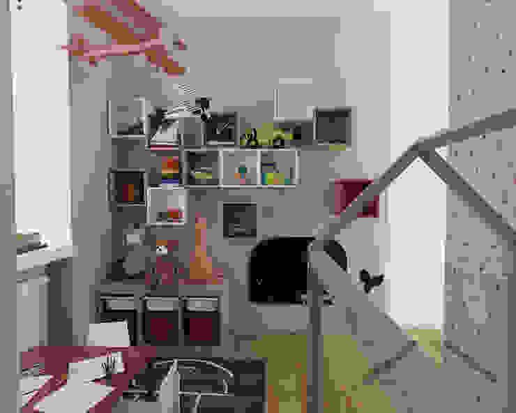 Dormitorios infantiles escandinavos de ZIN Studio Escandinavo