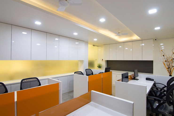 Workstation 1 Modern office buildings by A A Studio Architects Modern