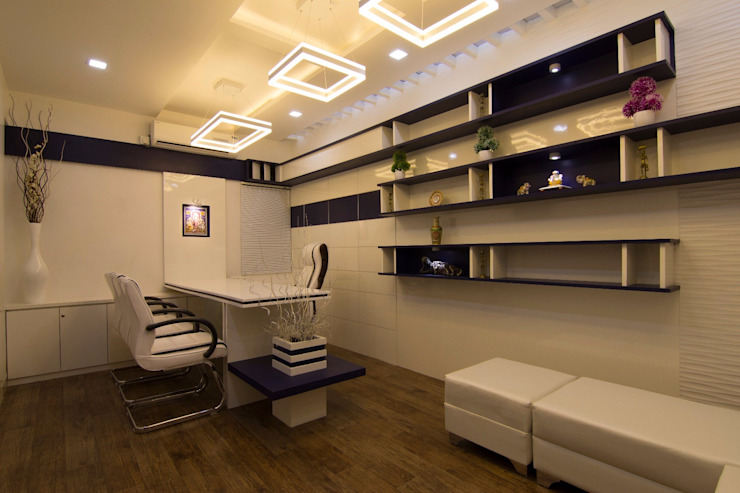 Director's Cabin Modern office buildings by A A Studio Architects Modern