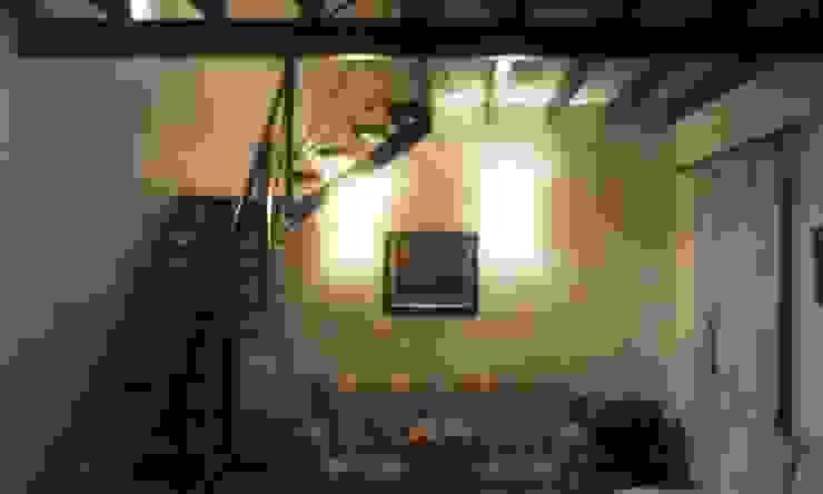 Vivienda unifamiliar Salones eclécticos de Valy Ecléctico Ladrillos