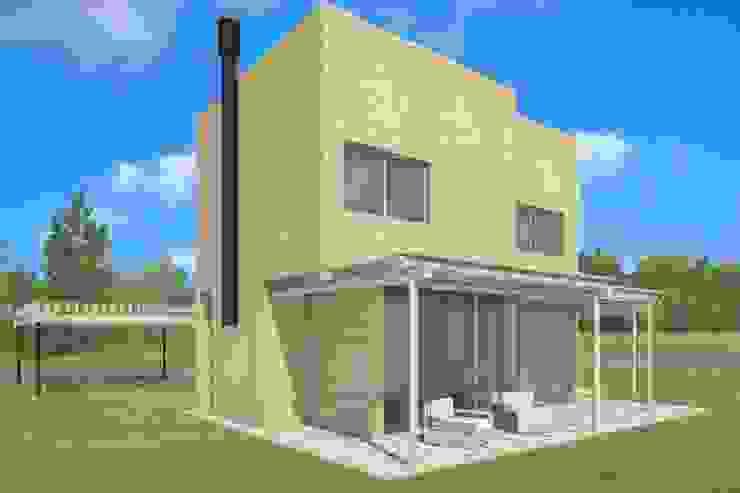 Casas de estilo  por CG+  , Rústico Ladrillos
