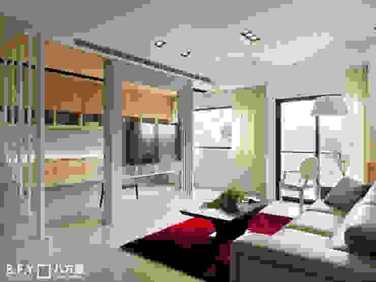 de estilo  por 八方圓空間設計