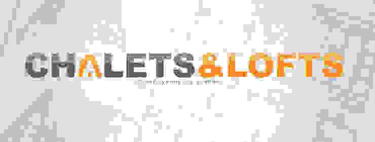 www.chalets-lofts.com Casas minimalistas de Chalets & Lofts Minimalista Concreto