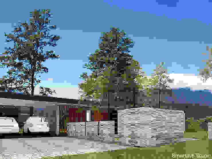 Moderne garage van homify Modern