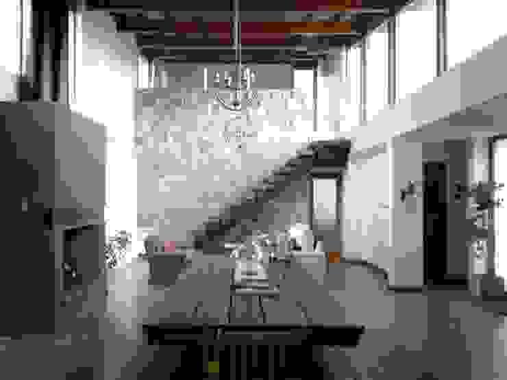 Salon moderne par Azcona Vega Arquitectos Moderne