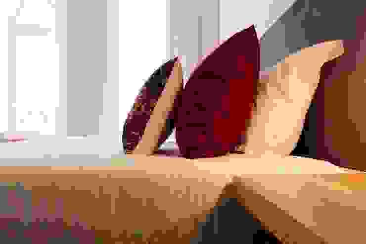 Detalhe têxteis Hotéis escandinavos por Alma Braguesa Furniture Escandinavo