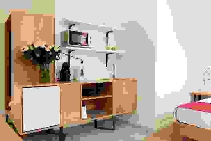 飯店 by Alma Braguesa Furniture , 北歐風